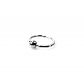 Horse Shoe Glans Ring - Penishodering med Kule -  25 mm