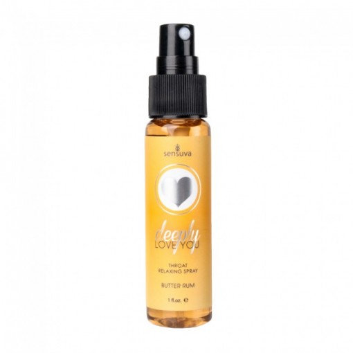 Sensuva - Deep Throat spray - Butter rum