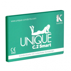 Unique - C.2 Smart - Lateksfrie Kondomer