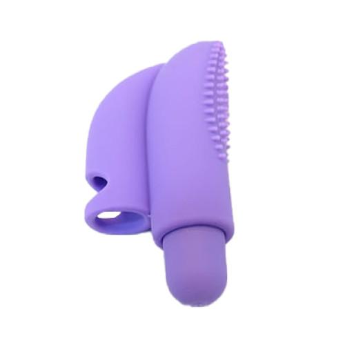Erotisk - Kraftig Fingervibrator - Lilla